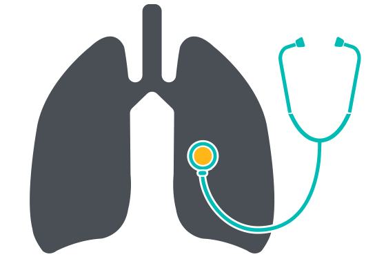 Asthma-lungs-stethoscope