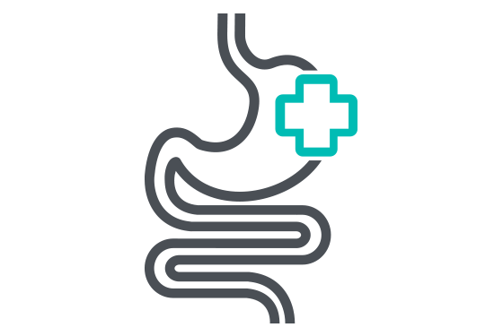 Illustration of Gastroenterology health