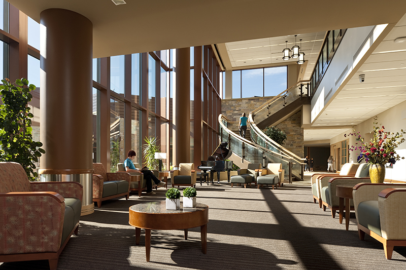 Maple Grove Hospital Interior