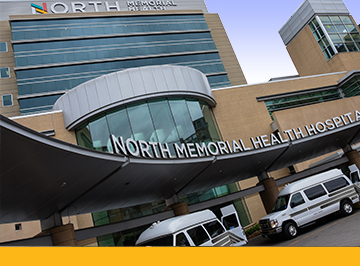 north memorial health hospital exterior