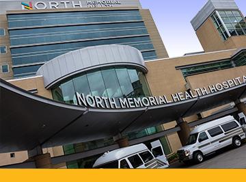 north memorial health hospital exterior