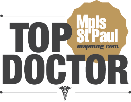 Mpls St. Paul Magazine's 2019 Top Doctor Award Winner Logo