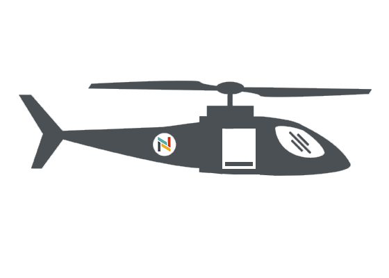 Aircare helicopter illustration