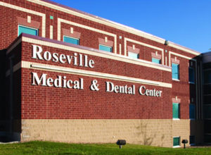 Front entrance of the Multicare Roseville clinic
