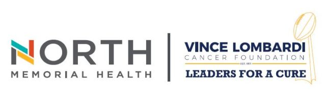 North Memorial Health Lombardi Foundation Logos