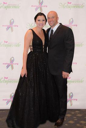 Couple at gala