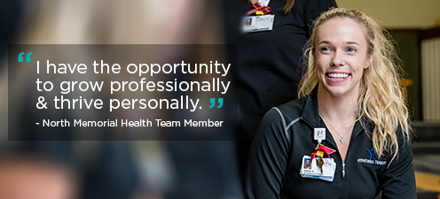 North Memorial Health Team member quote