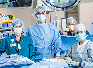 Maple Grove Hospital surgery team