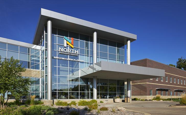 medical center building entrance