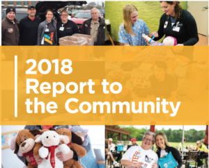 annual report to the community cover