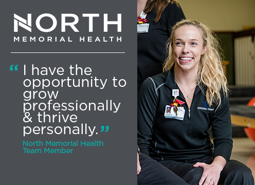 North Memorial Health Team quote