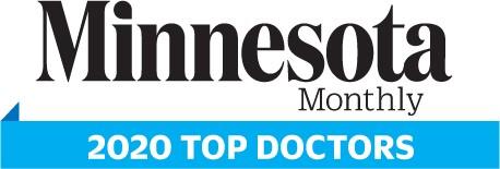 minnesota monthly 2020 top doctors logo