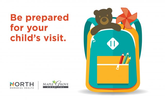 Be prepared for your child's visit.