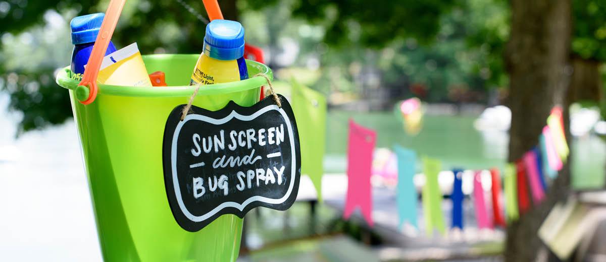 Sunscreen & Bug Spray
