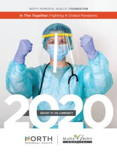 2020 Annual Report to the Community Cover