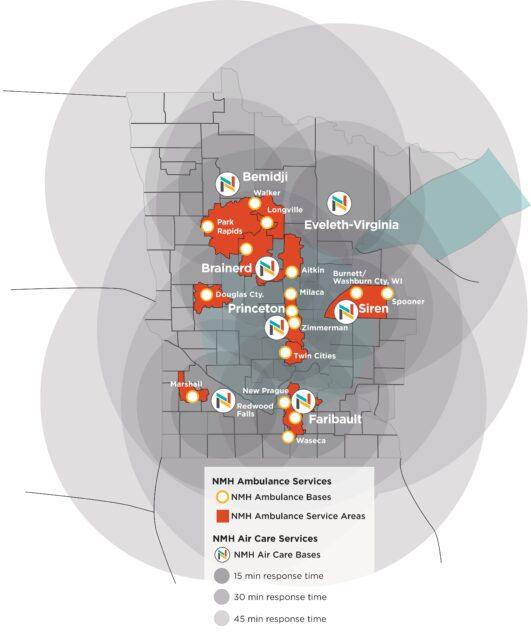 Air Care - Ambulance Map