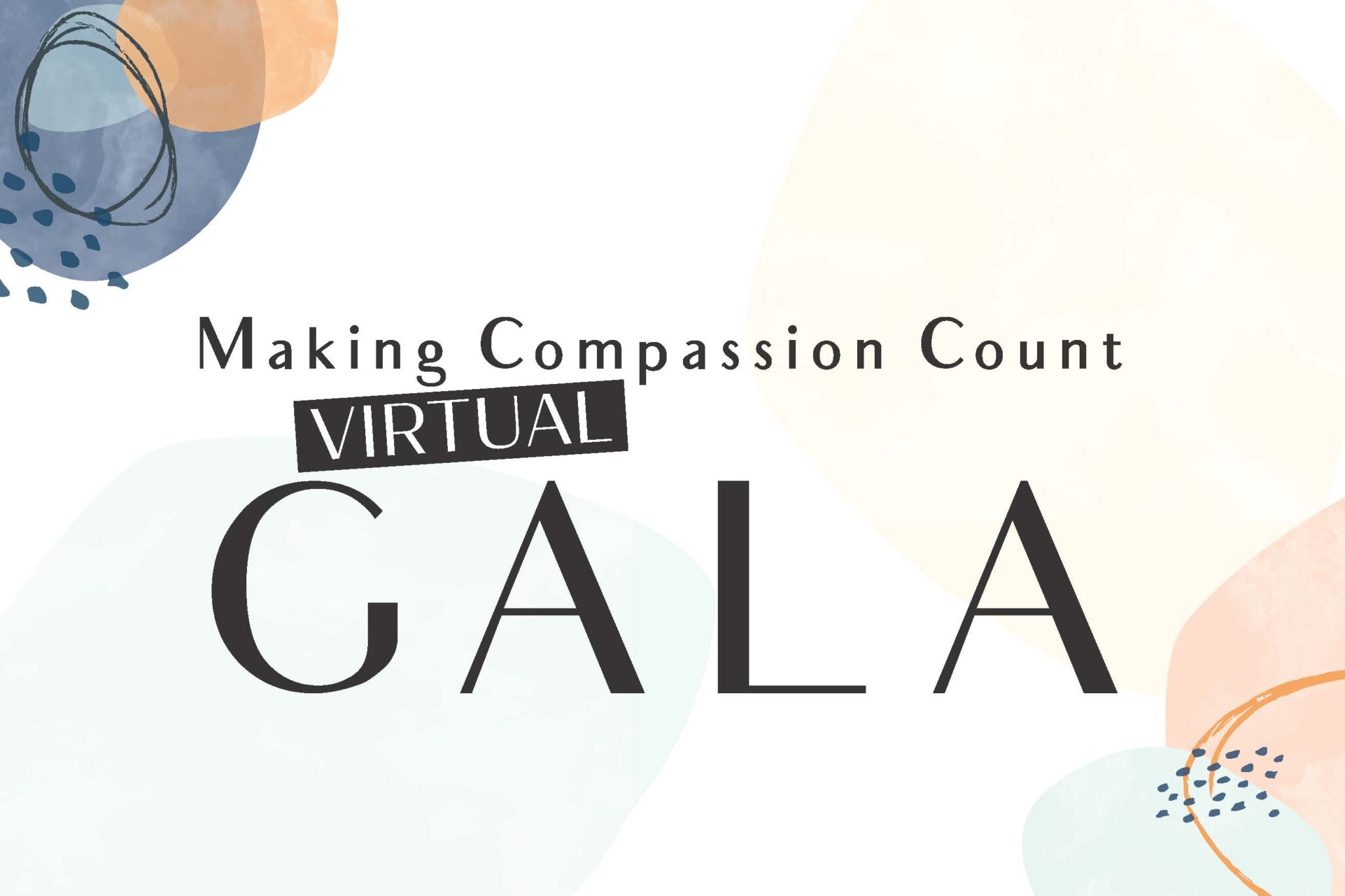 Making Compassion Count Virtual Gala
